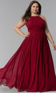 Plus Sized Red Ball Gowns