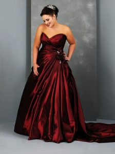 Red Ball Gown For Women