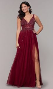Red Party Dress In XL